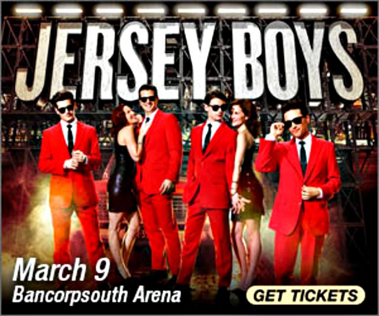 Award-winning JERSEY BOYS at the BancorpSouth Arena