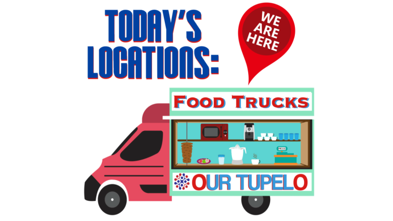 Where to find Tupelo's Food Trucks Sept 29th