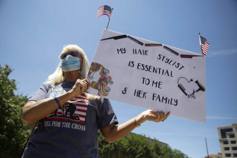 Gallery | Reopen Mississippi and open carry rally