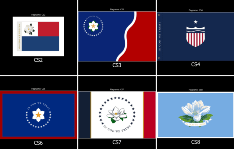 State flag commission announces 147 finalists of nearly 3,000 submissions