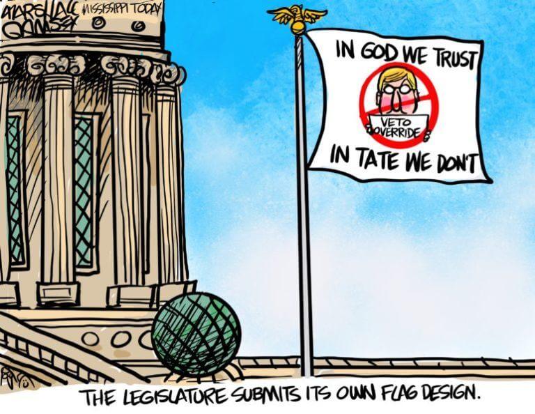 Marshall Ramsey: The Legislature's New Flag Design