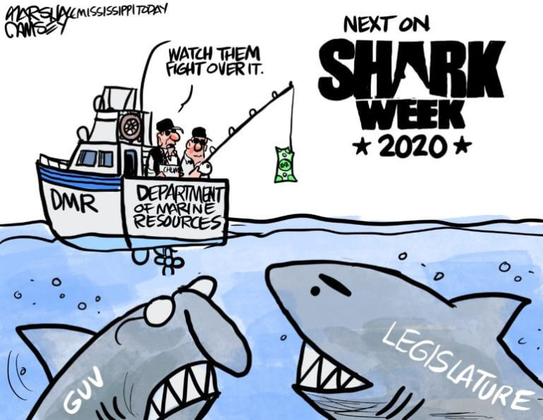 Marshall Ramsey: SHARK WEEK!
